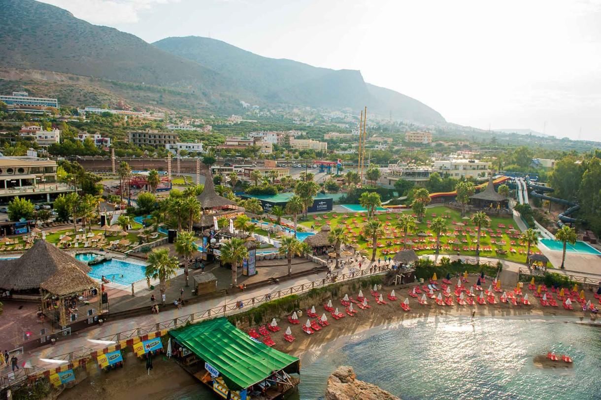Star Beach Water Park in Hersonissos Crete: water park crete