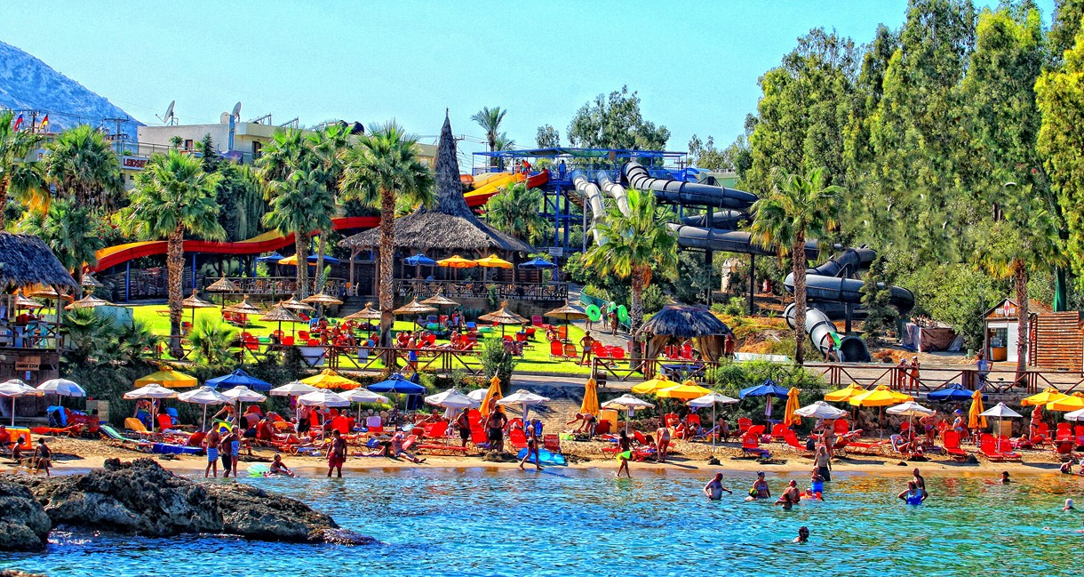 Star Beach Water Park in Hersonissos Crete: water park ...